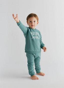 Believe in Magic Sweatshirt & Sweatpants Yeşil Set