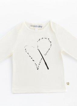 Magic Heart Uzun Kollu T-Shirt Ekru