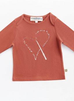 Magic Heart Uzun Kollu T-Shirt Kiremit