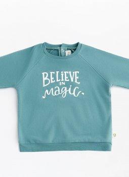 Believe in Magic Sweatshirt Yeşil