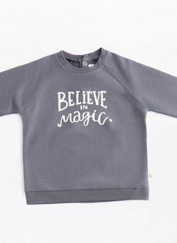 Believe in Magic Sweatshirt Siyah