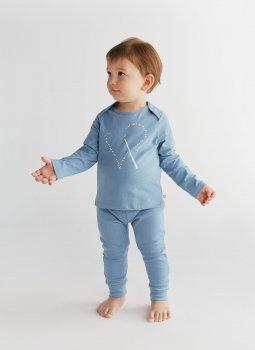 Magic Heart Uzun Kollu T-Shirt & Cozy Pants Mavi